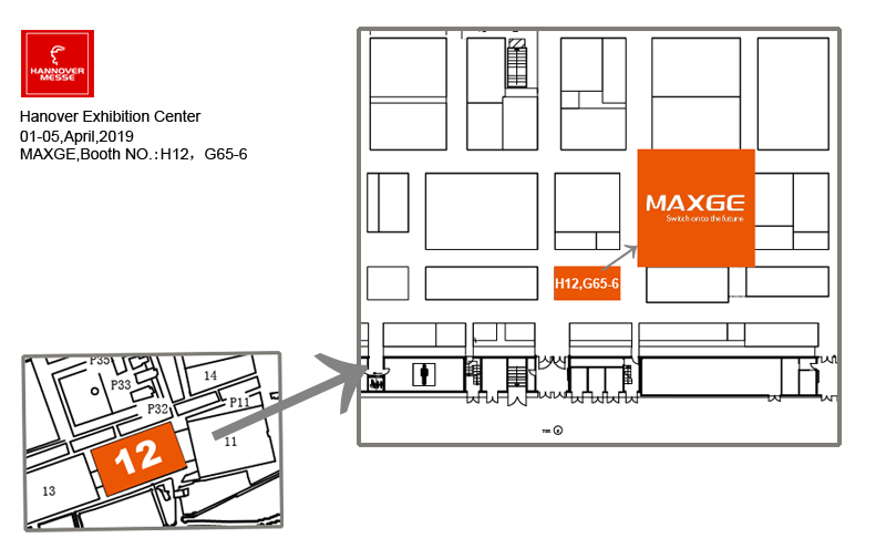 MAXGE Electric will attend the 2019 Hanover Industrial Exhibition