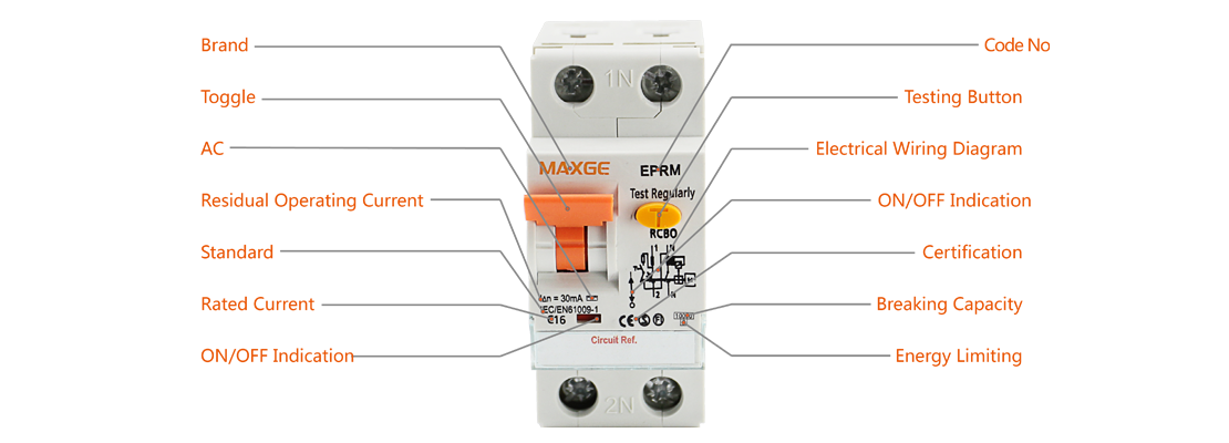 EPRM Residual Current Operated Circuit Breaker