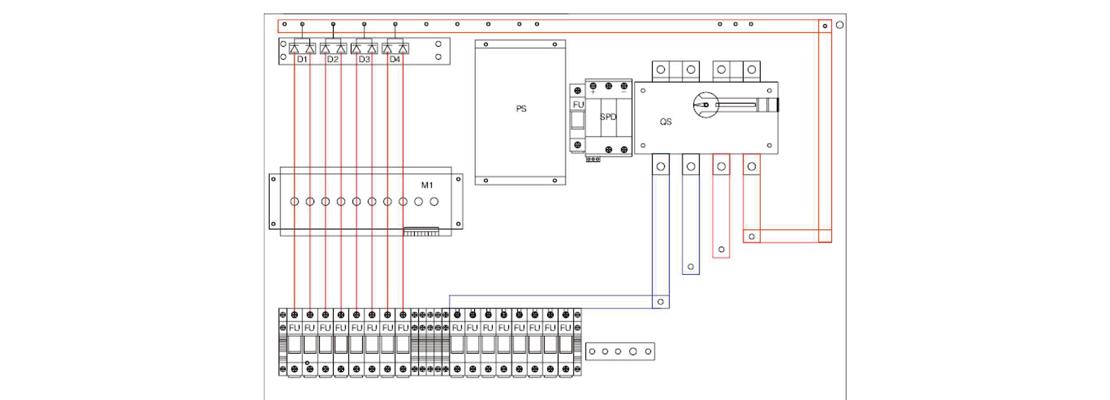 MG-PV 8/1 DC COMBINER BOX