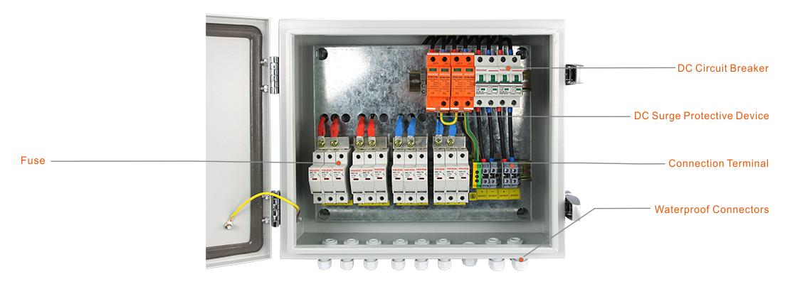 MG-PV 6/2 DC COMBINER BOX