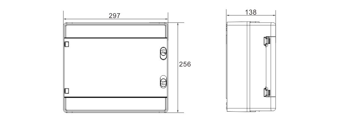 MG-PV 4/1 DC COMBINER BOX